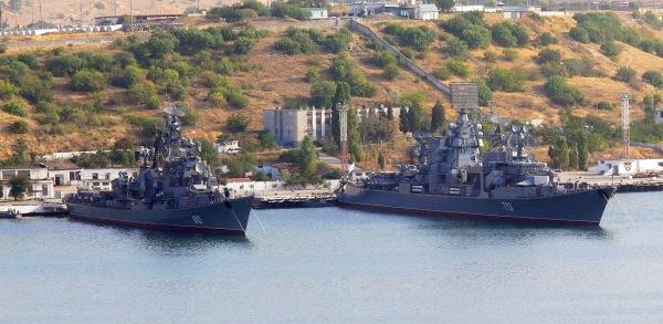Sevastopol. Flota rusa