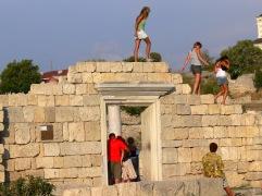 Khersones. Ruinas griegas