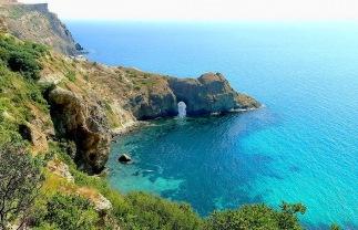Cabo Fiolent, al sur de Sevastopol