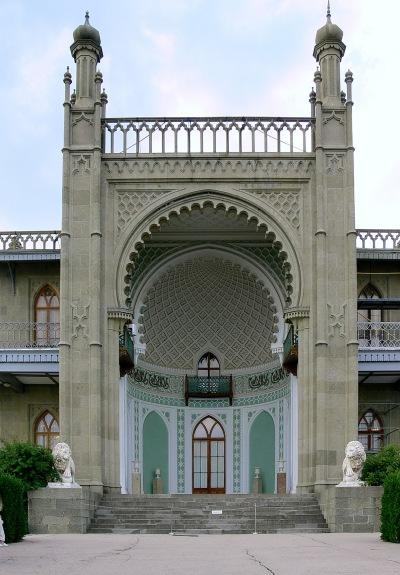 Alupka. Palacio Vorontzov