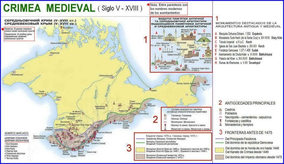 CRIMEA. Patrimonio Medieval