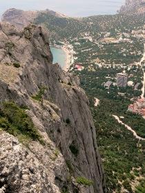 Novyi Svet. desde la cima del Momonte Sokol