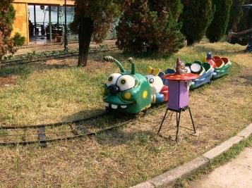 Noviy Svet. Parque infantil