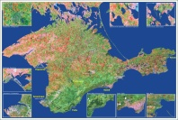 Crimea - Imagen de satélite