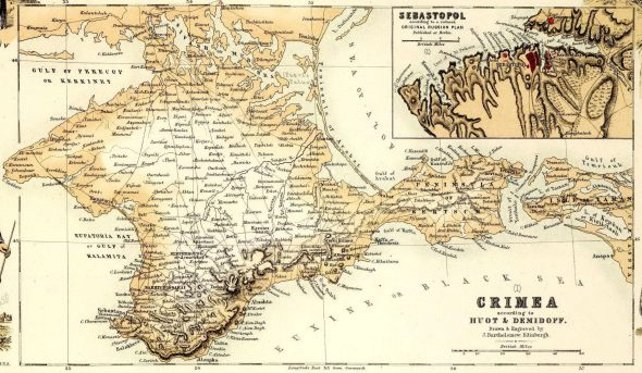 Crimea mapa historico 1