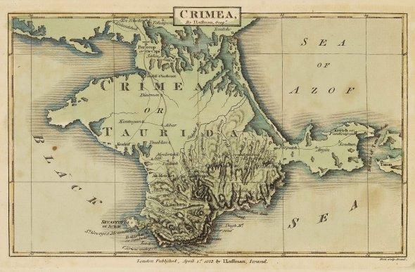 Crimea mapa historico 2