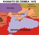 CRIMEA MAPA Khanato de Crimea1475
