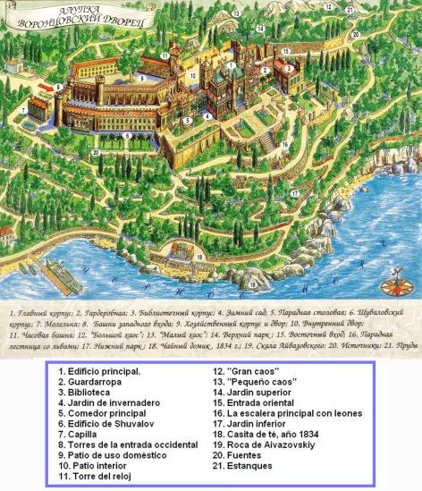 Plano del palacio