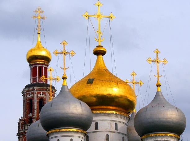 MOSCÚ -Novodevichi-Catedral Virgen de Smolensk