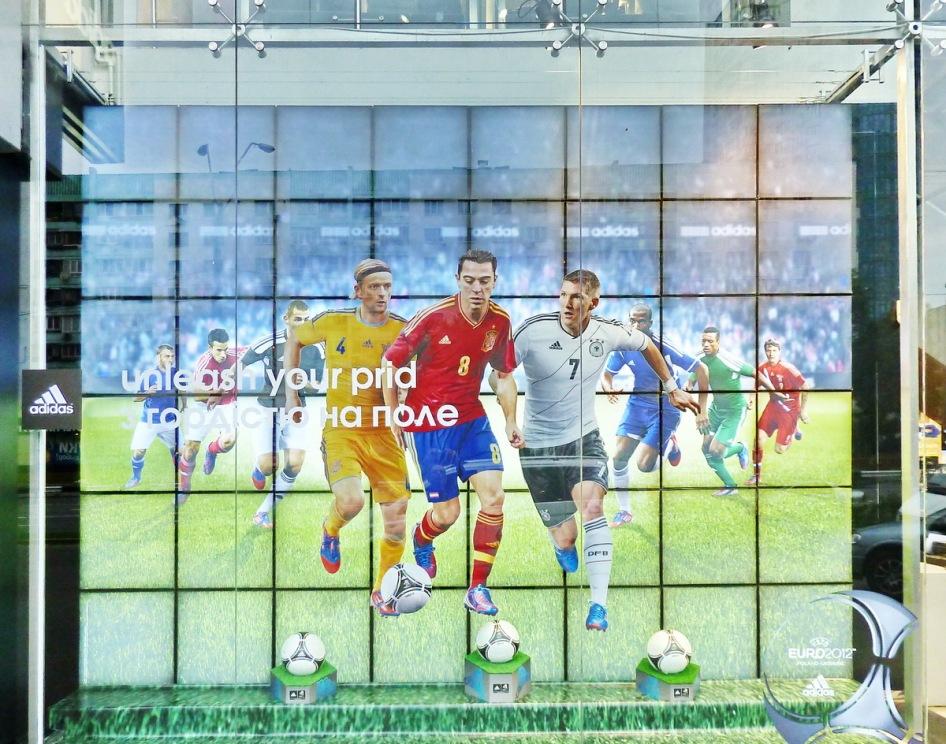 Kiev se vuelca con la Euro 2012