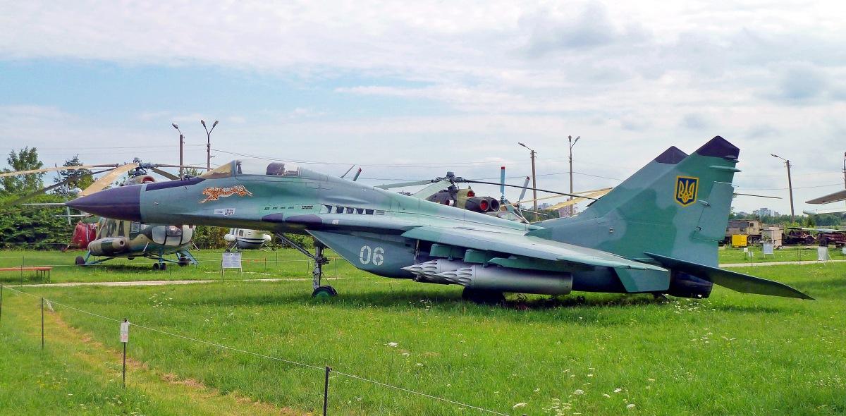 KIEV. Museo Nacional de Aviación.