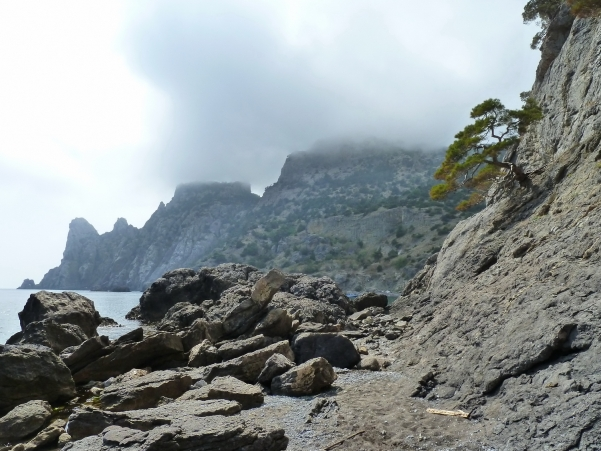 Cerca de la playa del Zar