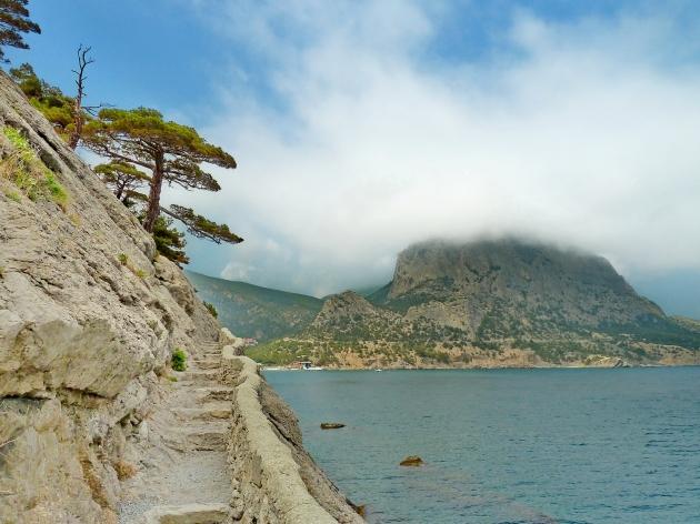 Monte Sokol desde el Koba-Kaya
