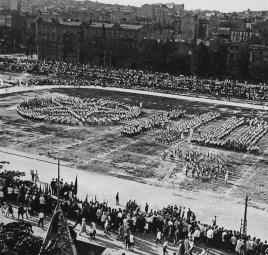 Estadio en 1933