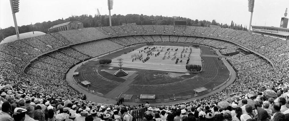 Sede de Fútbol durante los JJ.OO. de 1980
