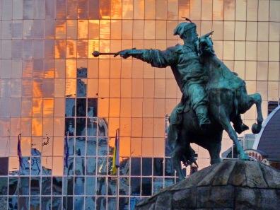 025 - Bogdan Jmelnytsky. El báculo de mando apunta hacia Moscú