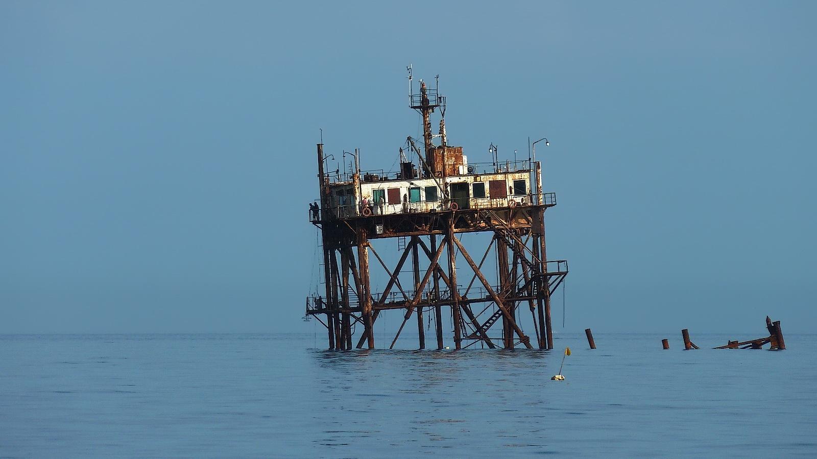 Plataforma oceanográfica.