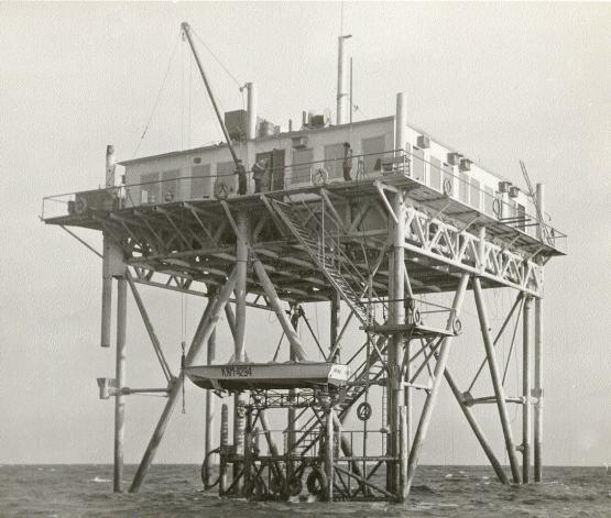Plataforma en 1980