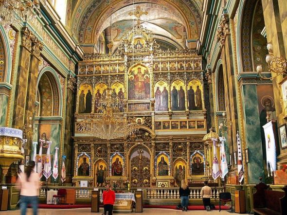 Los iconostasios ortodoxos