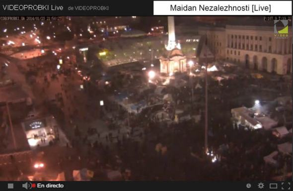 Euromaidan Videoprobki Live