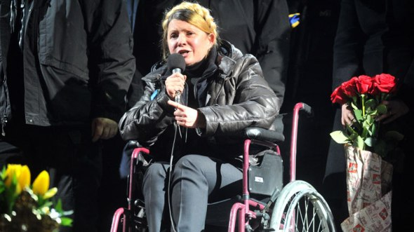 Timoshenko en Maidan