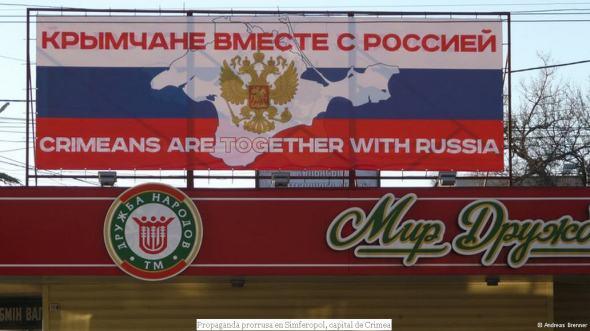 Crimea - Elecciones propaganda rusa
