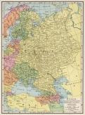 MAPA RUSIA-UCRANIA 1925