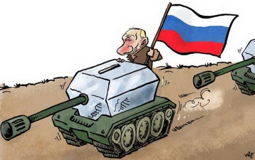 Cartoon Euromaidan 07