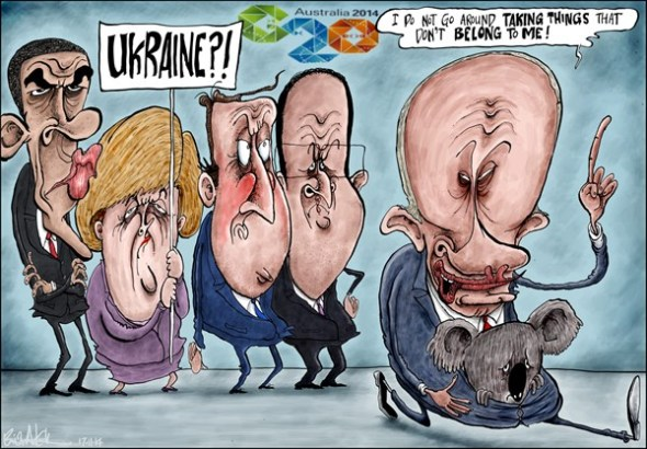 Cartoon Euromaidan 103