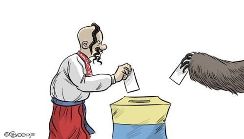 Cartoon Euromaidan 107