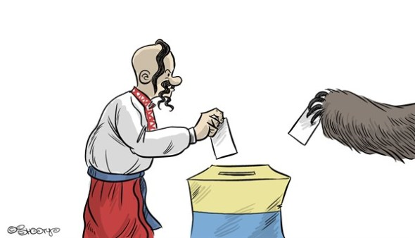 Cartoon Euromaidan 107