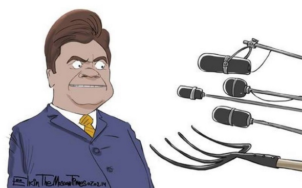 Cartoon Euromaidan 15