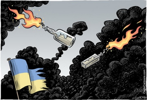 Cartoon Euromaidan 89