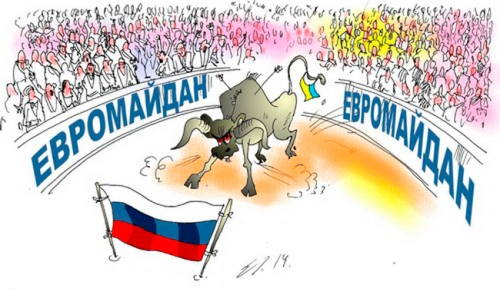 Cartoon Euromaidan 92