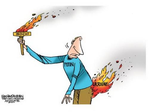 Cartoon Euromaidan 93