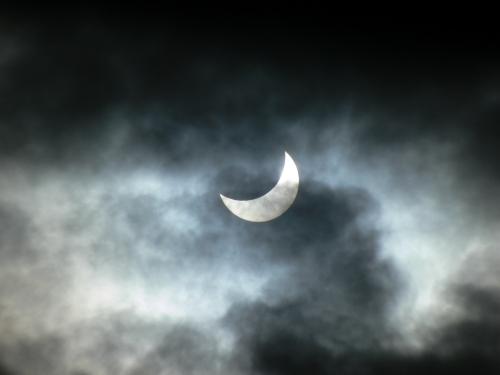 #Eclipse parcial