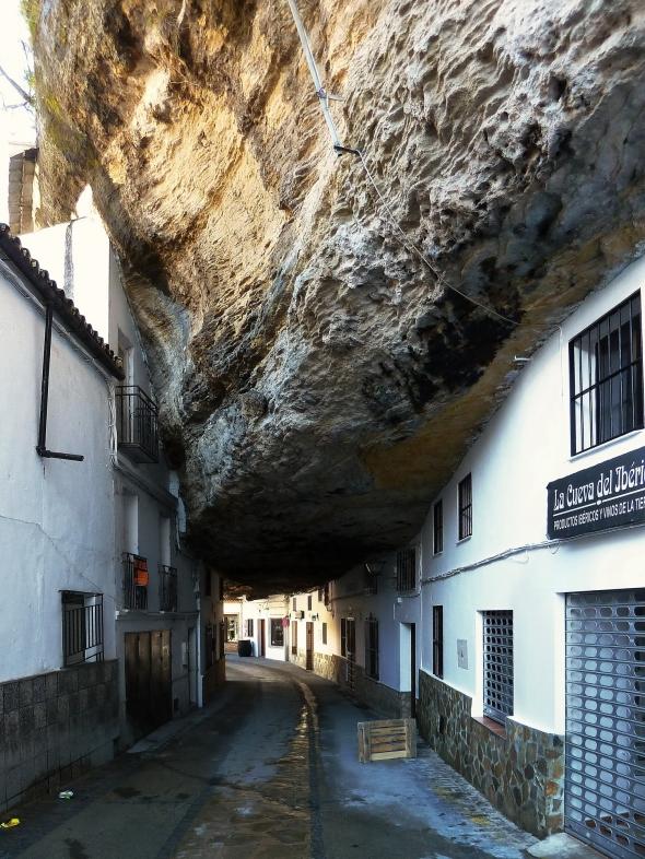 Setenil - calle Cuevas de la Sombra