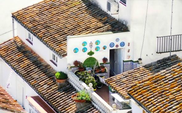 Setenil - Terraza-patio
