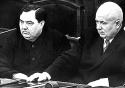 Khrushchev y Malenkov