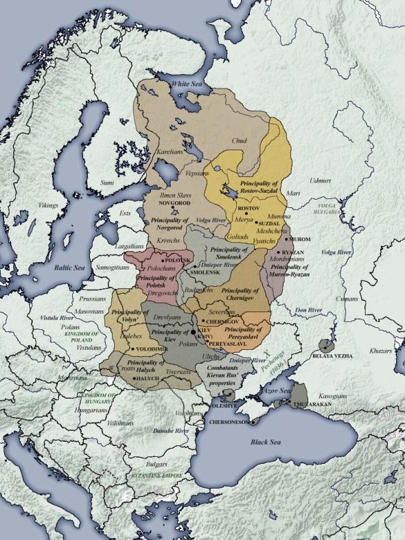 Rus de Kiev (1054-1132)