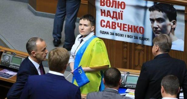 Savchenko en la Rada