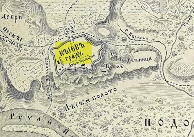 KIEV copia mapa siglo X