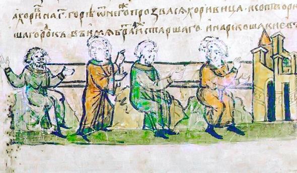 Kyi, Schek, Khoriv y Lybed