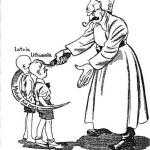 La URSS anexiona Letonia Lituania