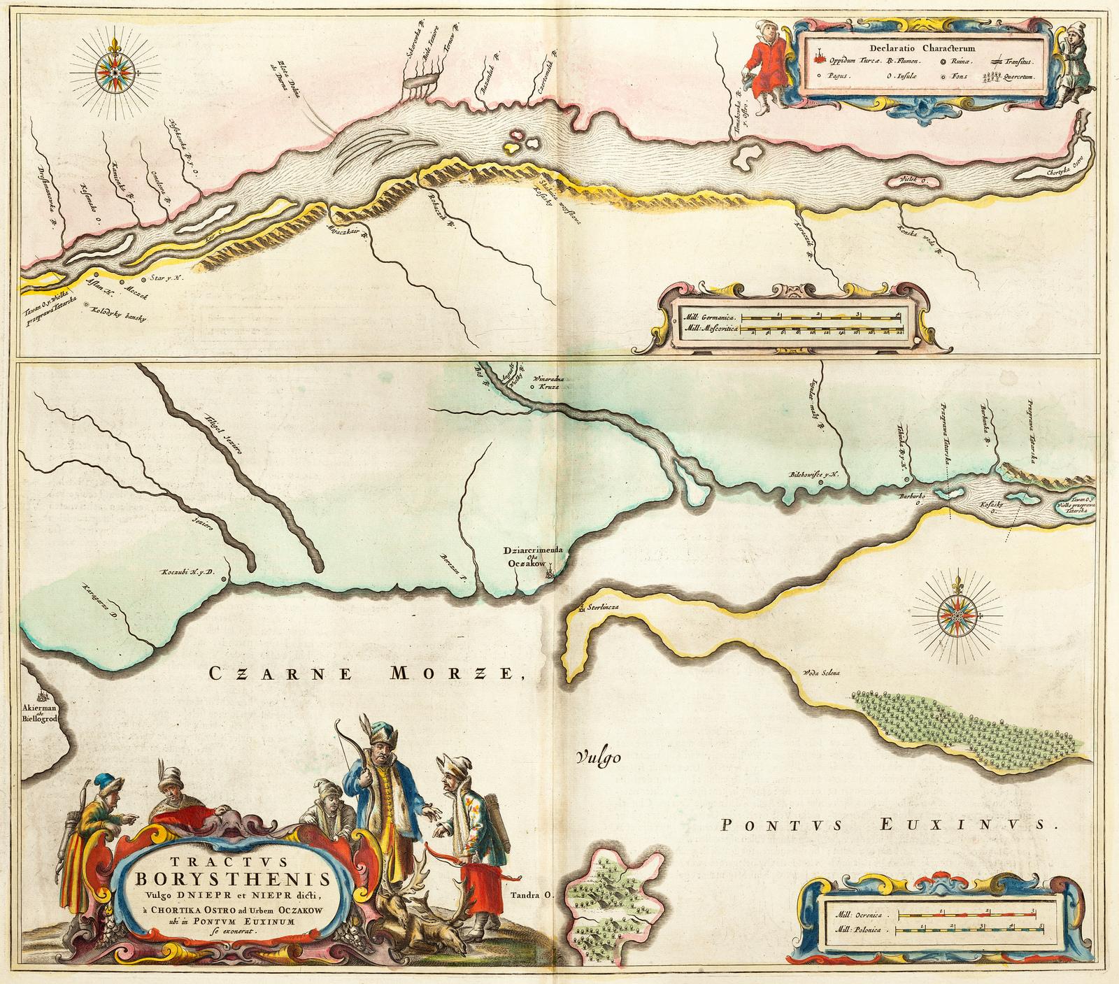 1662 Dnieper 3 de Jortitsia al Mar Negro