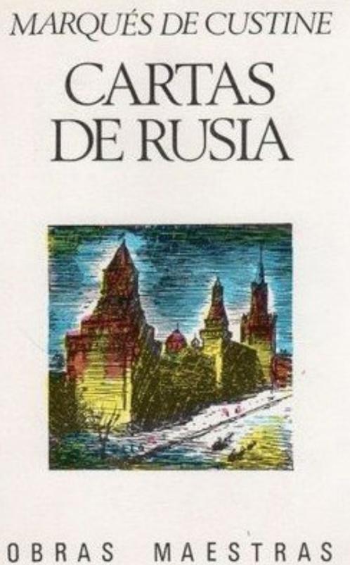 Publicado por primera vez enFrancia en 1843, fue un polémicobestsellerde la época, cuya impronta perdura aún en la imagen de Rusia acuñada en Occidente que ahora rescata en parte la editorial Acantilado bajo el títuloCartas de Rusia.